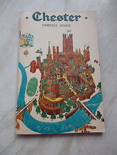 An Old Chester Official Guide 22nd Edition Cost 1/6d - 90 Page Booklet -map etc.