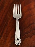 - INTERNATIONAL STERLING SILVER BABY FORK: SPRING GLORY, NO MONOGRAM [2]