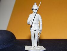 # 22 ROYAL MARINE OFFICER,  1900   , 54mm white metal figure Hinton Hunt
