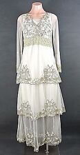 Titanic Dress S Nataya Evening Dresses Victorian Vintage style Layered LACE