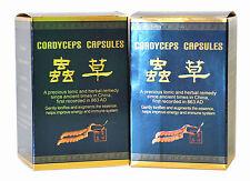 2 bottiglie di Cordyceps Sinensis 30 capsule Chong CAO Jiao NANG migliorare energia