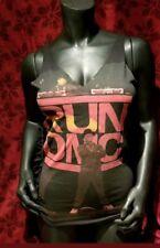 SMALL Run DMC DIY sexy handmade tank top punk rock rap club Rev hip hop retro