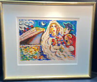 Zamy Steynovitz Hand Signed and Numbered Limited Edition Honeymoon