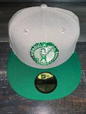 New Era MILB Missoula TimberJacks Gray & Green Baseball Fitted Cap Hat 7 NWT