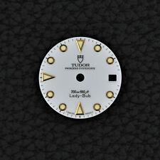 Tudor PRINCESS Lady Sub Submariner 69093 Dial Silver 26mm Oro Quadrante