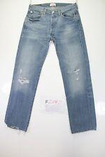 Levis 501 mit zerissen Cod. F2192 Tg46 W32 L36 jeans gebraucht verkürzt vintage