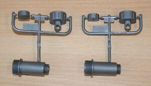 Tamiya 9803212/19803212 Y Parts (2 Pcs.), (CC-02/G500/Grasshopper 2 Black), NEW