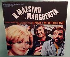 LP ENNIO MORRICONE - IL MAESTRO E MARGHERITA  Colonna Sonora VINILE OST
