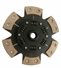 6 PADDLE CERAMETALLIC CLUTCH PADDLE PLATE FOR A FORD SIERRA HATCHBACK 2.8I