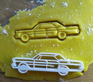 NEU Ähnl. Ford Galaxie 65er 4.trg  Ausstecher Cutter Auto Car Salzteig Knete