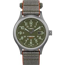 "Timex TW4B18600, Men's ""Expedition"" Gray Nylon Watch, Scout, Solar Powered"