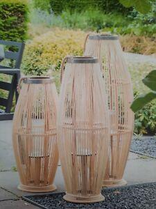 Laterne Bambus Groß