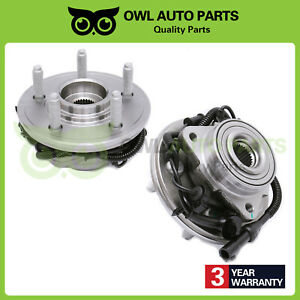 Set of 2 Front Wheel Bearing Hub For 2002-2005 Ford Explorer Mercury Mountaineer