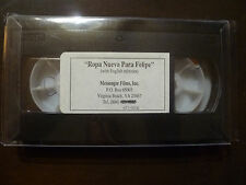 Ropa Nueva Para Felipe with English Subtitles [VHS Tape]