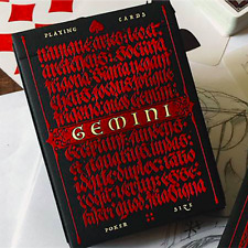 Gemini Ignis Playing Cards Deck by Stockholm17 and Murphy's Magic