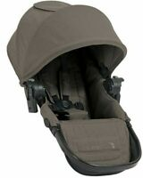 Second Seat Attachment For Baby Jogger City Select LUX Stroller w/Adapters Taupe