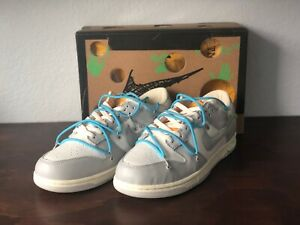 Nike Dunk Low Leather Off White Size 12 Sneakers Lot 02 of 50 2020