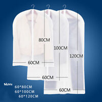 Clothes Dress Garment Dustproof Cover Bags Suit Coat Travel Storage Protector WF