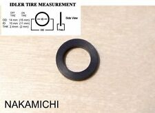 New tape deck idler tire for Nakamichi BX-1, BX-2, BX-100 BX-300, BX-150,CR, MR