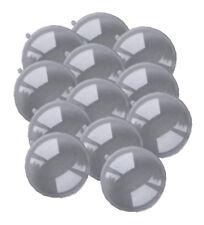 12 Acrylkugeln 10 cm, transparent, 2-teilig teilbar, Kunststoff-Kugel