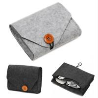 Travel Digital Storage Bag USB Cable Charger Pouch Storage Organizer Bag Case@