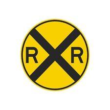Railroad Crossing Sign Municipal Grade D.O.T. Street Road Rail W10-1RA22RK