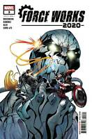 2020 Force Works #3 (Of 3) (2020 Marvel Comics) First Print Ramirez Cover
