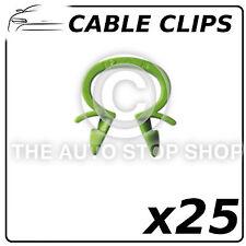 Cable Clips Omega arnés Clips Int 13mm-perforación 6,5 mm todos los vehículos 1315 25pk