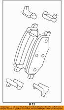 FORD OEM Brake-Rear Pads FG1Z2200A
