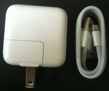 OEM 12 Watt 2.4 Amp USB Charger + 1M Original Lightning Cable For Apple iPad