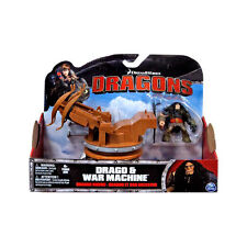 Licensed DreamWorks How to Train Your Dragon - Rider Drago & War Machine