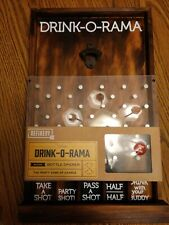 New Wooden Drink O Rama Wall Hanging Shot Party Game Refinery Rustic bottle cap