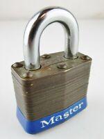 Master Lock No.4 Brass Laminated Case Hard A2083 (No Key)