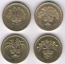 More details for 1984-1987 uk one pound coin set | british coins | pennies2pounds