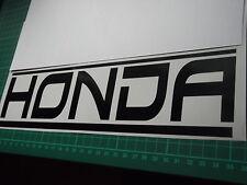 Falda De Panel De Honda Coche Vinilo Pegatina Calcomanía x2