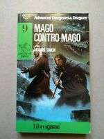 Advanced Dungeons & Dragons 9 MAGO CONTRO MAGO  librogame  EL