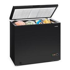 Congelatore Pozzetto Freezer Mini Verticale Piccolo Ecologico 200 L A+ Nero