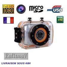 Caméra Sport Full HD 1080P DV 140° Grand Angle 10 mètres étanche DVR Caméscope