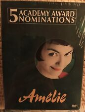 Amelie (Dvd, 2002, 2-Disc Set, Special Edition) Widescreen. New-Factory Sealed.