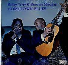 Sonny Terry & Brownie McGhee SEALED 1971 LP Hometown Blues 1965 New/old stock