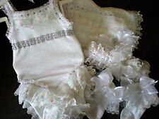 Rom blinged-Diamanté & Frills - 4 pezzi Tutu Cami Set