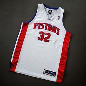 100% Authentic Richard Rip Hamilton Detroit Pistons Jersey Size 44 L XL Mens