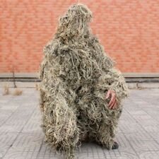 Sniper Desert Camouflage Clothes Haired Yowie Ghillie Suit Traning Hunting CS