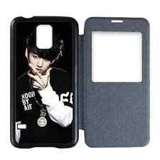Jungkook Bangtan Boys Kpop Samsung Galaxy S5 Flip Cover Case