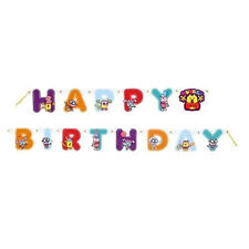 WOW WOW WUBBZY HAPPY BIRTHDAY BANNER ~ Party Supplies Hanging Decorations NickJr