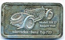 """Silberbarren Degussa 1 Unze Feinsilber """" Mercedes Benz Typ 720 """""""