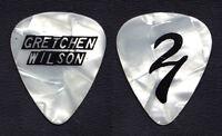 Gretchen Wilson Signature White Pearl Guitar Pick - 2011 Tour