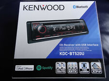 Kenwood KDC-BT520U 1-DIN Autoradio Bluetooth CD USB AUX MP3 EQ Bass~Freisprechen