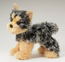 "Yonkers Yorkie 8"" by Douglas Cuddle Toys Yorkshite terrier stuffed plush Soft!"