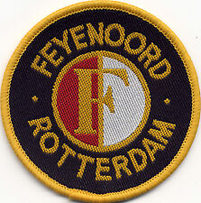 Feyenoord Rotterdam Retro 80's/90's Football Badge Patch 7.1cm x 7.1cm